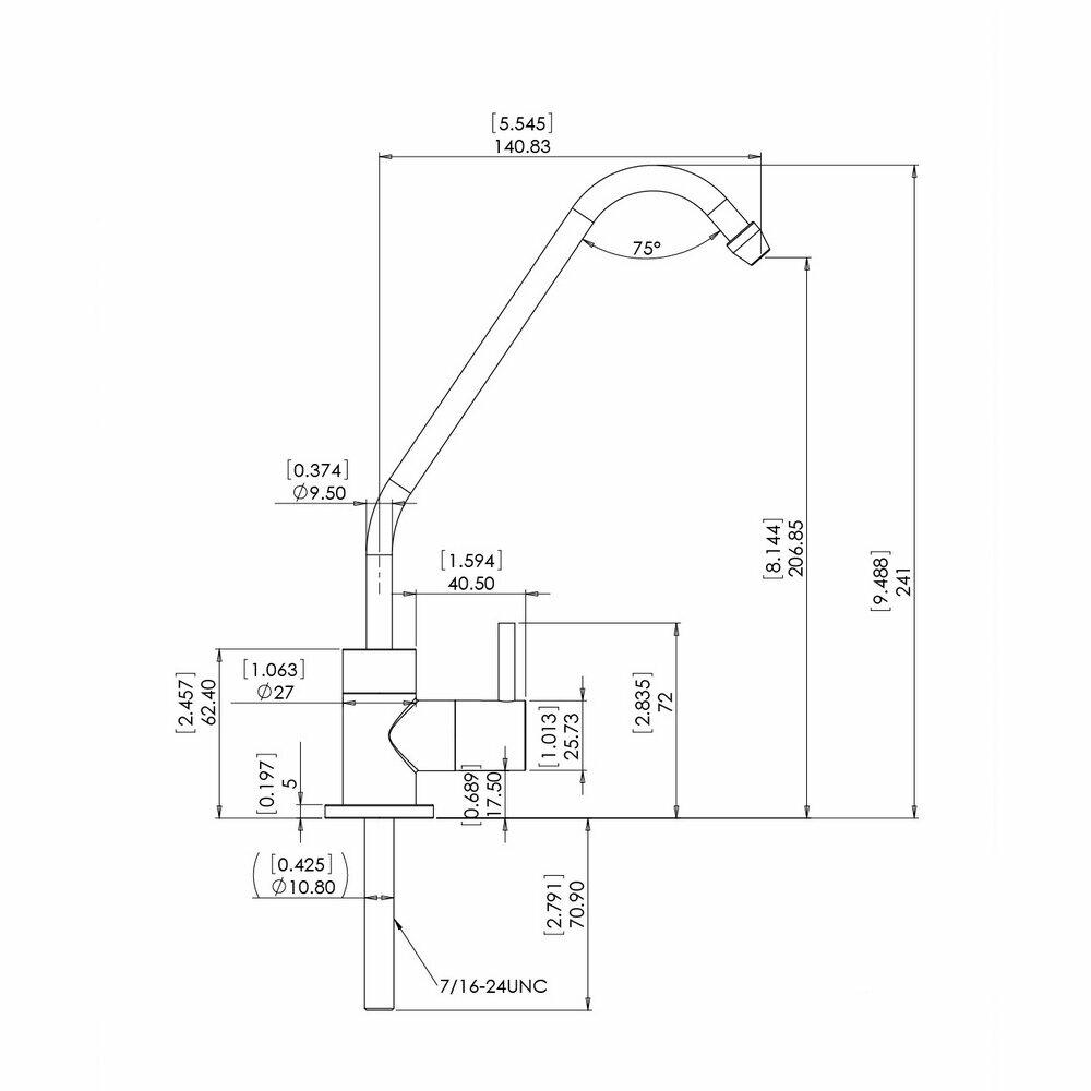 robinet pour osmoseur et filtre eau. Black Bedroom Furniture Sets. Home Design Ideas