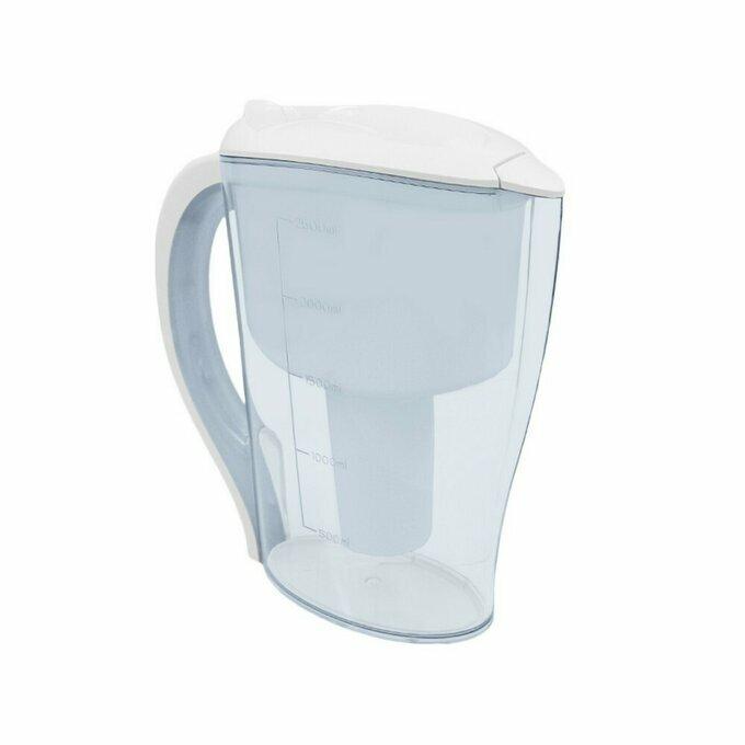 carafe filtrante carafe hydropure eco avec dateur manuel. Black Bedroom Furniture Sets. Home Design Ideas
