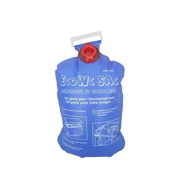 Kit conomiseur d 39 eau douchette chrom e sac wc et 2 - Economiseur d eau douche ...