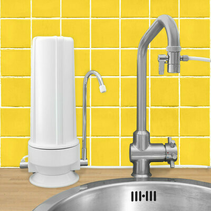 Filtre eau charbon actif la gamme c ramique s 39 largit for Filtre a eau sur robinet