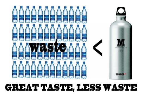 Ban the bottle ou la fin de la petite bouteille d 39 eau en - Eau en bouteille vs eau du robinet ...